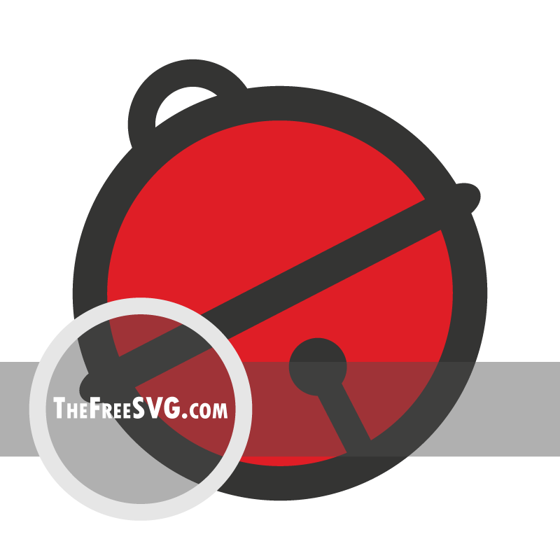 Red Bell - Free SVG File