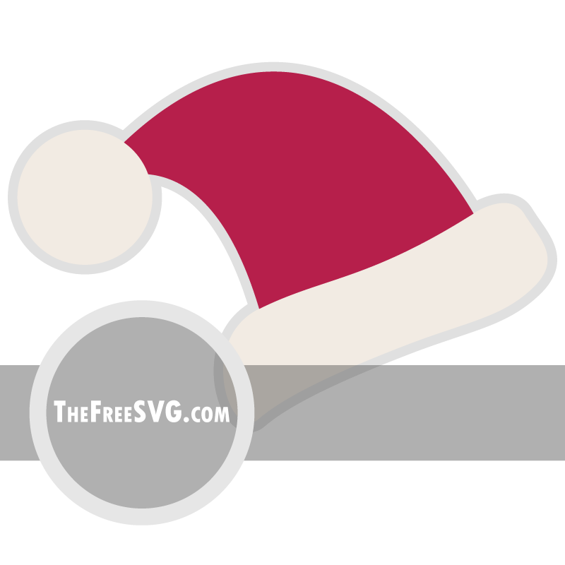 Santa Hat - Free SVG File